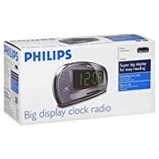 Philips Clock Radio, Big Display, 1 radio
