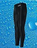 9thCode (ナインスコード) 男性 競泳用ロング水着 ナイロン 無地シンプル フィットネス BL/L M