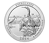 2014 America the Beautiful Florida Everglades S Silver Proof DCam Good
