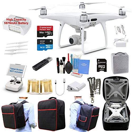 DJI-Phantom-4-PRO-Drone-Quadcopter-Bundle-Kit-with-4K-Professional-Camera-Gimbal-and-MUST-HAVE-Accessories
