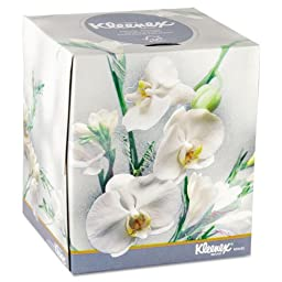 KIM21269 - Boutique Two-Ply White Facial Tissue