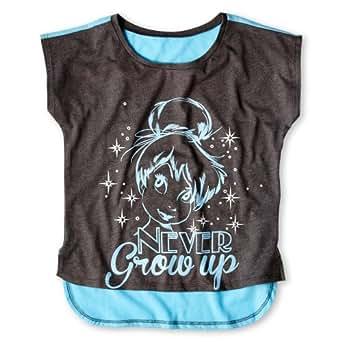 Disney Tink Never Grow Up Girls T Shirt