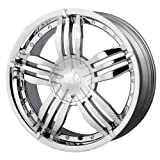 MPW MP105 Chrome Wheel (18x7.5