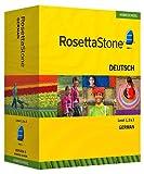 Rosetta Stone Homeschool German Level 1-3 Set including Audio Companion