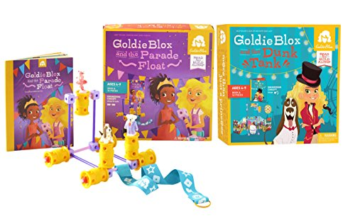 GoldieBlox Dunk Tank and Parade Float