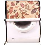 Dream Care Leafy Dark Brown Printed Waterproof & Dustproof Washing Machine Cover For IFB Front Load Senorita-SX...