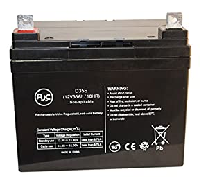 Pride Jazzy 1103 Ultra 12V 35Ah Scooter Battery - This is an AJC Brand® Replacement