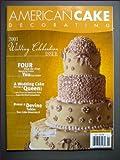 American Cake Decorating January/February 2003 Wedding Cake Issue