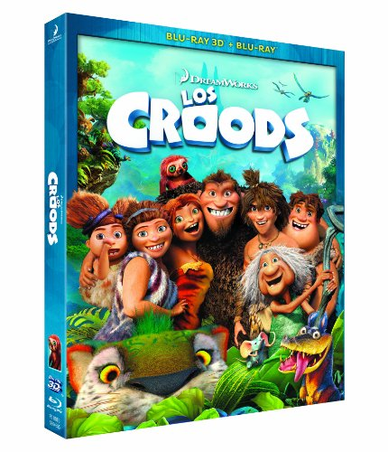 Los Croods (BD + BD 3D) [Blu-ray]