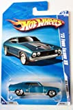 Hot wheels blue  73 ford falcon xb 7 10 All Stars 2010  125 240