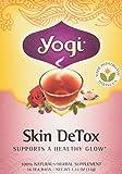 Yogi Tea Co. Tea, Og, Herbal Skin Detox, 16-Count (Pack of 3)