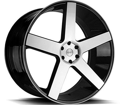 22-inch-azad-5198-black-machine-wheels-tire-package-lexani-forgiato-asanti-giovanna-audi-mercedez-in