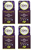 4 x Dr Optic Optical Lens Cleaning Wipes for Glasses LCD TV iPad Camera Laptop 24 Pk