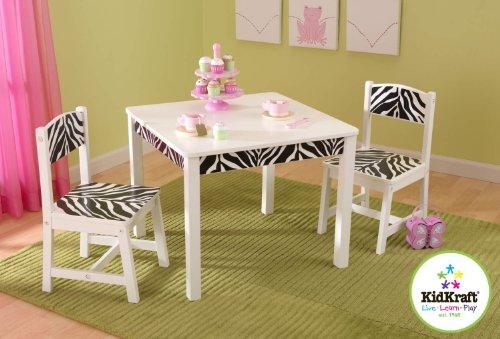 Imagen principal de Kidkraft 21325 - Juego de mesa y 2 sillas divertido y en onda