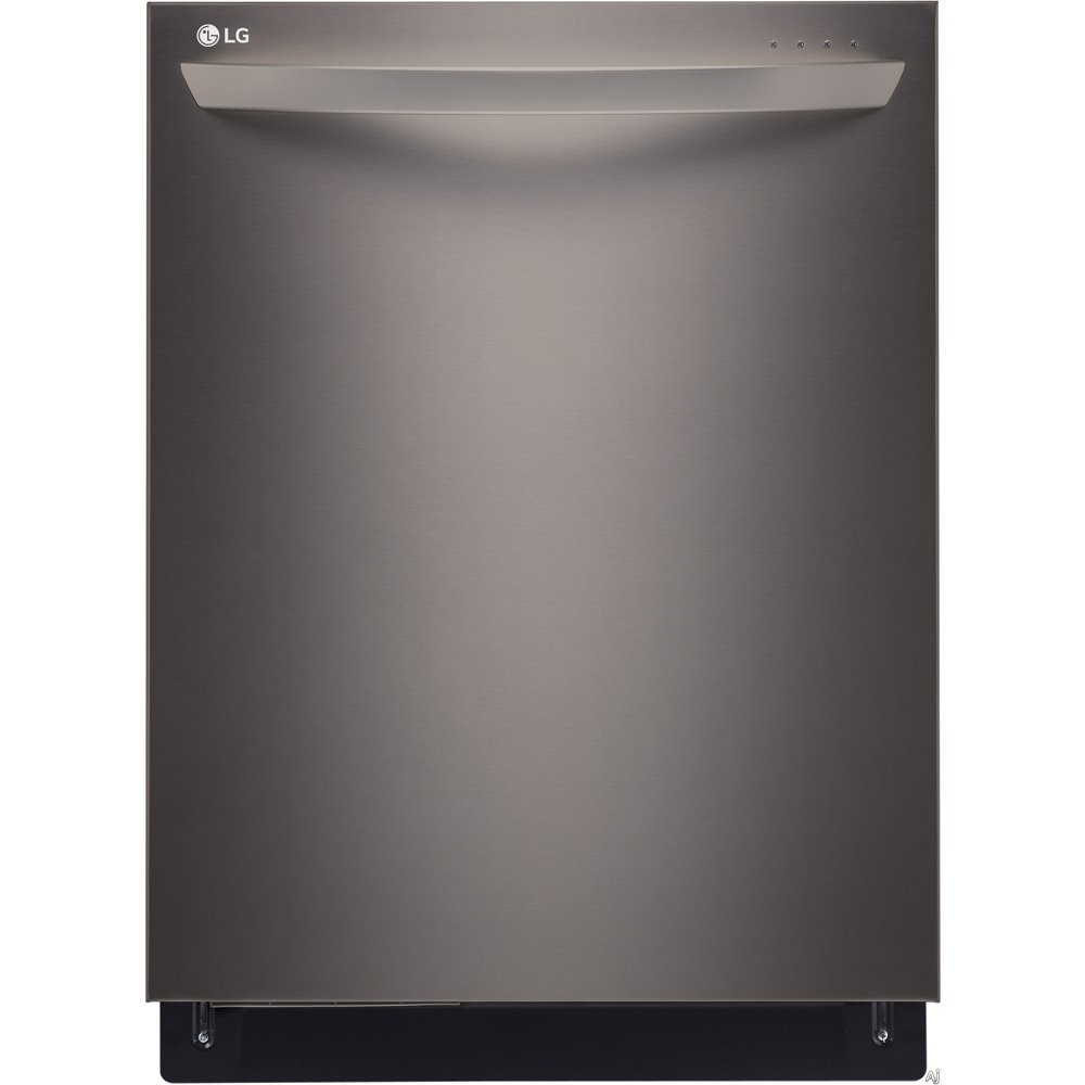 "LG LDT9965BD 24"" Black Diamond Series Fully Integrated Dishwasher with TrueSteam Generator 15 Place Settings 6 Cycles Hidden SmoothTouch Controls and Finger-Resistant Finish in Black Stainless"