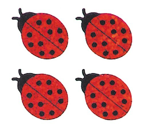 Jillson Roberts Prismatic Stickers, Mini Lady Bugs, Bulk Continuous Roll (BS7062) (Ladybug Office Supplies compare prices)