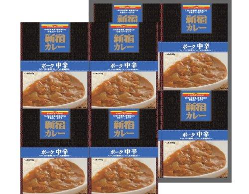 カレーショップC&C 新宿駅の味!8個セット 中辛 200g×8個(化粧箱入り)