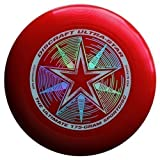 Discraft Ultra-Star 175g Ultimate Frisbee 'Starburst' - rot