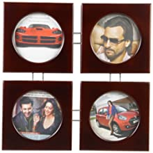 Safal Wooden Photo Frame (Brown, PF 505)