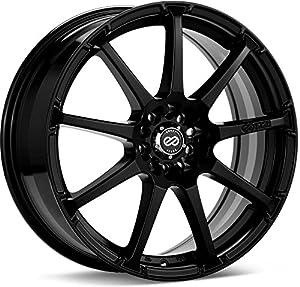 17x7 Enkei EDR9 (Matte Black) Wheels/Rims 5x100/114.3 (441-770-0245BK)