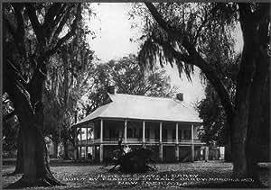 Photo Octave J Darby Home Built In 1813 New Iberia Iberia Parish Louisiana La