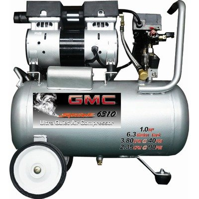 GMC SYCLONE 6310 Ultra Quiet & Oil-Free Air Compressor