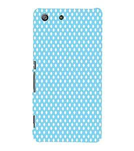 Sea Green Dots 3D Hard Polycarbonate Designer Back Case Cover for Sony Xperia M5 Dual E5633 E5643 E5663 :: Sony Xperia M5 E5603 E5606 E5653