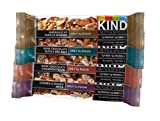 KIND Nuts & Spices, Variety Pack, 12-Count Bars (Cashew & Ginger Spice, Dark Chocolate Cinnamon Pecan, Dark Chocolate Nuts & Sea Salt, Madagascar Vanilla Almond - 3 Bars each), 1.4oz.