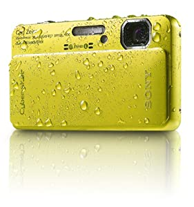 Sony Cyber-Shot DSC-TX10 16.2 MP Waterproof Digital Still Camera with Exmor R CMOS Sensor, 3D Sweep Panorama, and Full HD 1080/60i Video (Green)