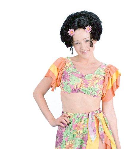 Polynesian Wig Costume Accessory - 1