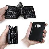 LapWorks Amigo 2.0 Folding Bluetooth Folding Keyboard For IPad Tablets Phones
