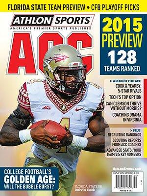 Athlon Sports 2015 College Football ACC Preview Magazine- Florida State Seminoles Cover