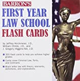 img - for Barron's First Year Law School Flash Cards: 350 Cards with Questions & Answers by Jeffrey L. Kirchmeier J.D. William G. Childs J.D. J. Gregory Higgins-Yali (2010-01-01) Cards book / textbook / text book