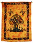 Forest Mushroom Tapestry Wall Hanging...