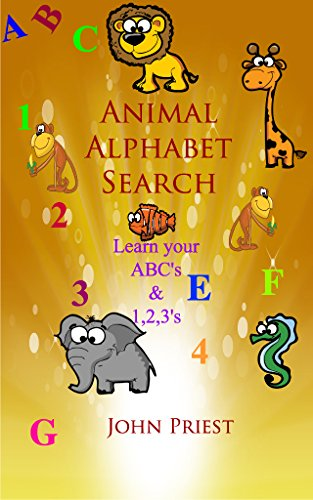 Animal Alphabet Search by John Priest
