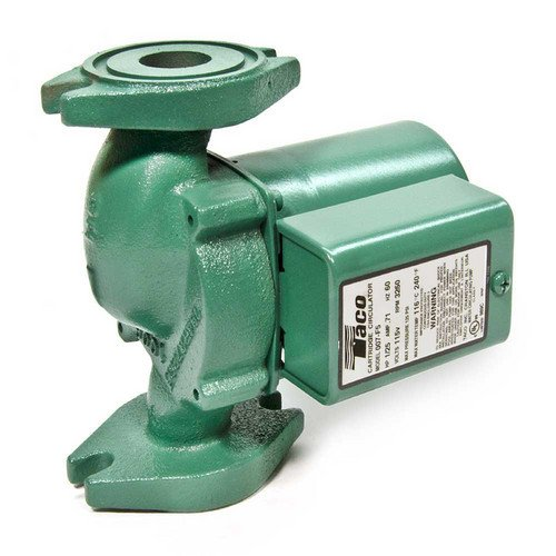 Taco 007-F5 Cast Iron Circulator, 1/25 Hp