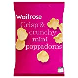 Poppadoms Mini Waitrose 10x70g