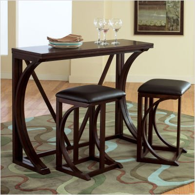 dining tables for small spaces dining tables for ashley console table. Black Bedroom Furniture Sets. Home Design Ideas