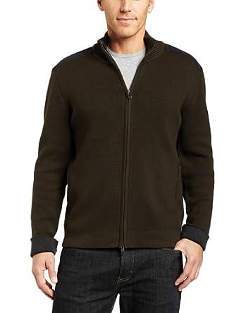 Victorinox Mens Mahale Sweater, Pine Needle, Medium