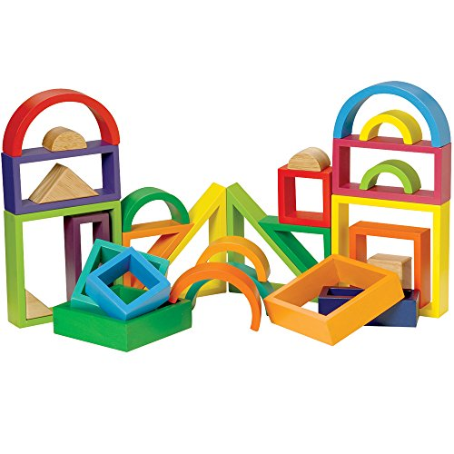 Multi-Colored Designer Blocks Set