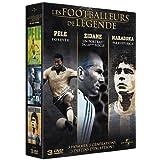 Coffret - Les footballeurs de légende [Francia] [DVD]