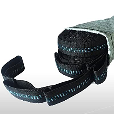 Funlife Ultralight Hammock Tree Straps with Adjustable 12 Loops and Carry Bag