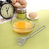 Spring Coil Wire Whisk Hand Mixer Blender Egg Beater