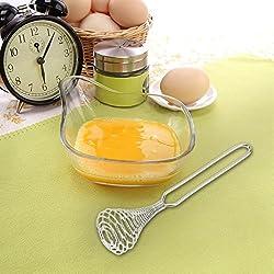 Spring Coil Wire Whisk Hand Mixer Blender Egg Beater