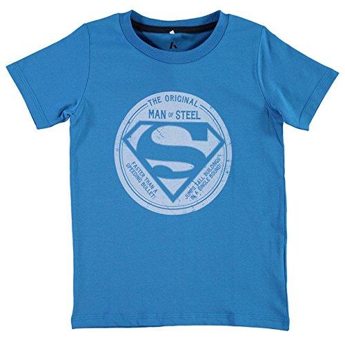 Name It Pite Kids SS Top Boy blu - bianco 164