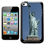 Fancy A Snuggle Statue Of Liberty New York USA Design Hard Back Case Cover for Apple iPod Touch 4th Generation