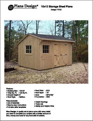 Free saltbox shed plans 10 x 12 haddi for Salt shed design