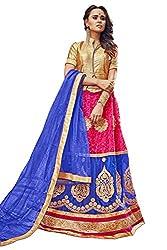 Maroosh Women's Multi Colour Bollywood style lehenga choli