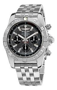Breitling Men's AB011012/F546 Chronomat B01 Grey Chronograph Dial Watch