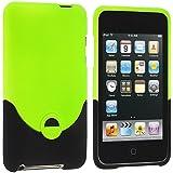 Grün 2-teilig Snap-On Hard Case Hülle für Apple Ipod Touch 3rd 2nd Generation 3G 2G